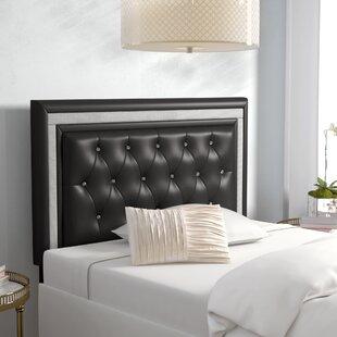 Willa Arlo Interiors Algol Upholstered Panel Headboard