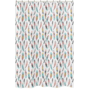 Searching for Feather Shower Curtain By Sweet Jojo Designs