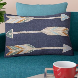 Faulks Arrow Pattern Throw Pillow