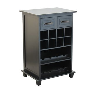 8 Bottle Floor Wine Cabinet