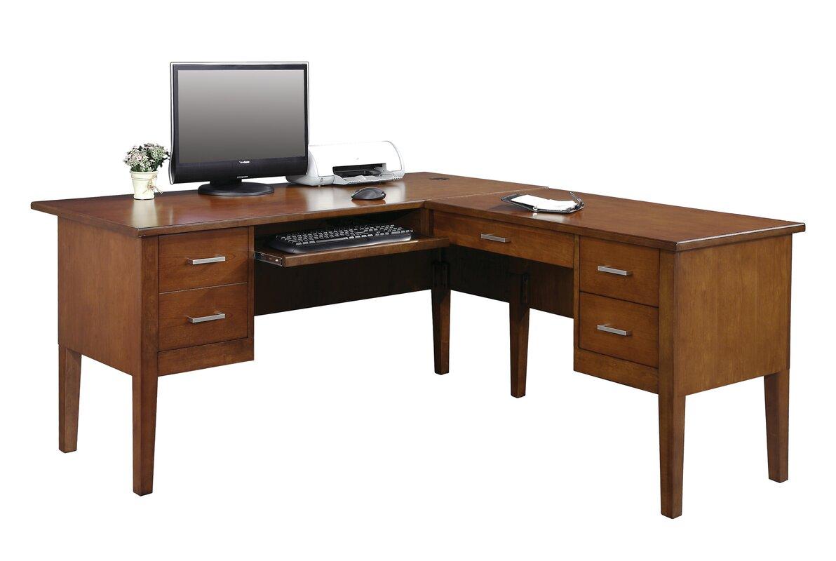 eaton lshape executive desk