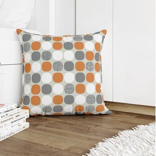 Orange Polka Dot Throw Pillows You Ll Love In 2021 Wayfair
