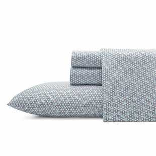 Optic 200 Thread Count Polka Dot 100% Cotton Percale Sheet Set