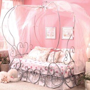 Girls Princess Canopy Bed Wayfair