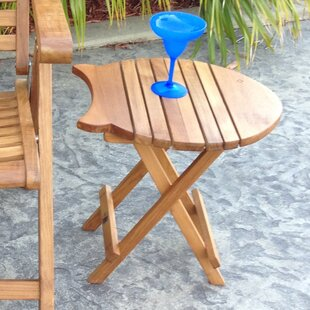 Fish Folding Teak Dining Table
