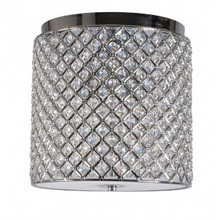 House of Hampton Bedelia 3-Light Flush Mount