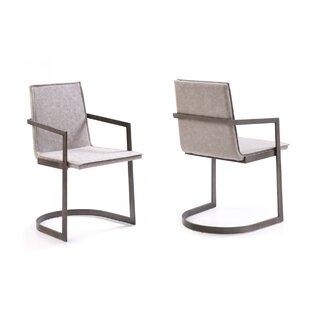 Coggin Arm Chair (Set Of 2) by Orren Ellis Wonderful