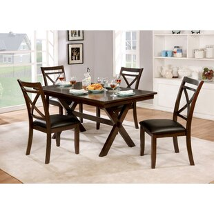 Bexley 5 Piece Dining Set by Alcott Hill Comparison