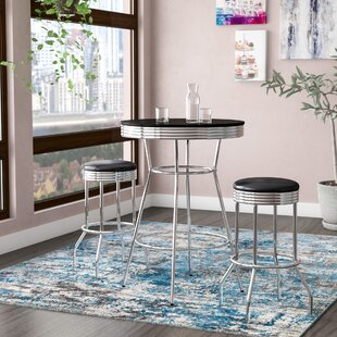 Anissa 3 Piece Pub Table Set by Zipcode Design 2019 Sale