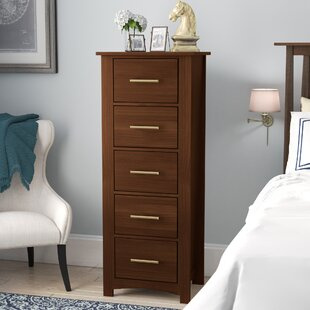 Darby Home Co Treville Narrow 5 Drawer Linge..