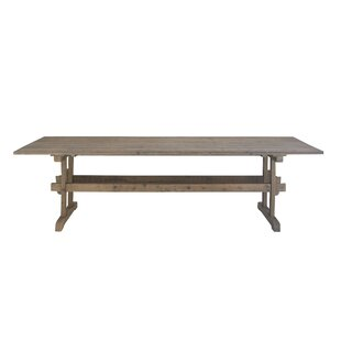 Winchendon Rustic Rectangular Wood Dining Table