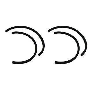 Think Crucial 4 Piece Dyson DC07 DC14 Gasket Seal
