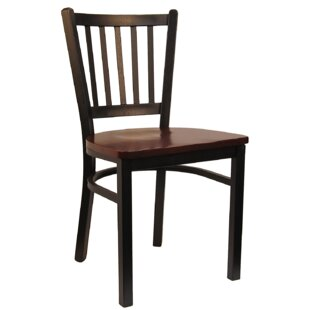 H&D Restaurant Supply, Inc. Vertical Solid Wood Dining Chair