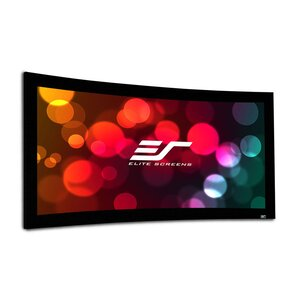 Lunette Series Matte White Fixed Frame Projection Screen