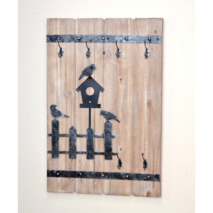 Wall Coat Rack With 6 Coat Hooks By August Grove