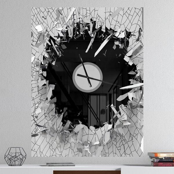 Abstract Wall Clocks Wayfair