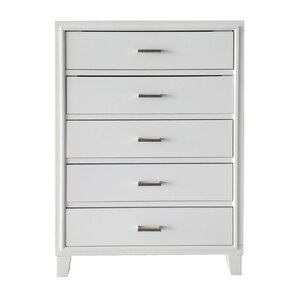 Schmidt 5 Drawer Chest by Latitude Run