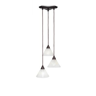 Nessa 3-Light Pendant by Red Barrel Studio
