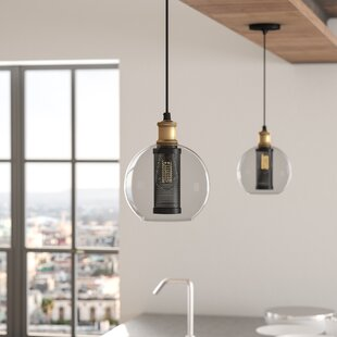 McEwan 1-Light Globe Pendant by 17 Stories