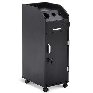 Shuler Salon Trolley Storage Cart Beauty Hair Dryer Holder