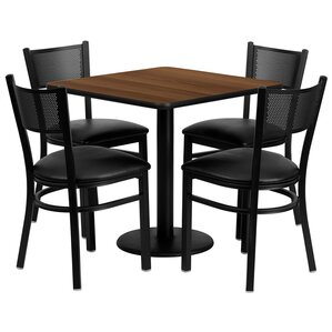 Yash 5 Piece Dining Set by Red Barrel Studio
