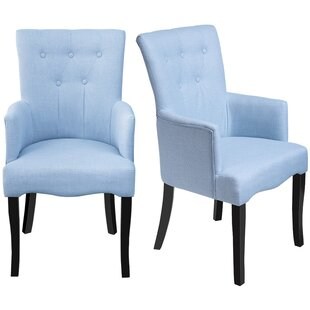 Almon Upholstered Dining Chair (Set of 2)..
