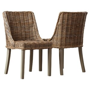 Loomis Solid Wood Dining Chair (Set of 2)..