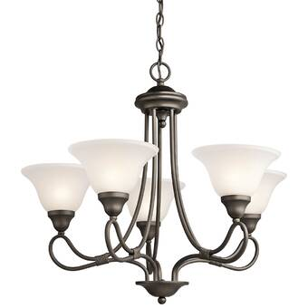 Alcott Hill Guerro 9 Light Shaded Classic Traditional Chandelier Reviews Wayfair