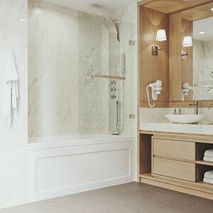 Rialto 57 x 34 Hinged Bathtub Door