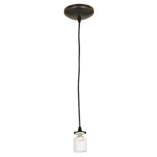 Ebern Designs Ferragamo 1-Light Bulb Pend..