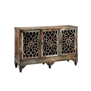 Ruskin 3 Door Accent Cabinet by Stein World