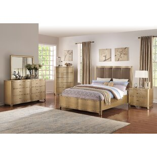 Ryde Upholstered Panel Configurable Bedroom Set by Everly Quinn