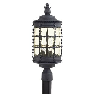 Best Reviews Calem Outdoor 3-Light Lantern Head By Gracie Oaks
