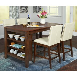 Manawa 5 Piece Pub Table Set b..