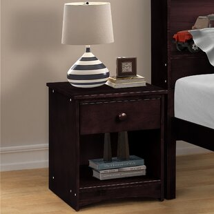 Tollefson 1 Drawer Nightstand by Winston Porter
