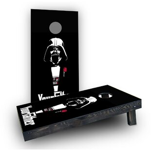 Custom Cornhole Boards Your Father Darth Vader Cornhole Boards (Set of 2)