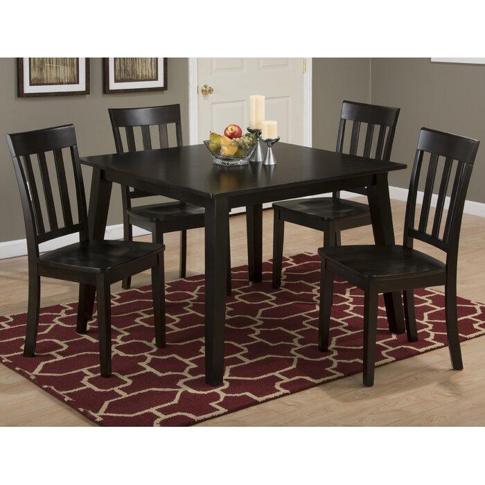 Izora Square Shape Solid Wood Dining Table