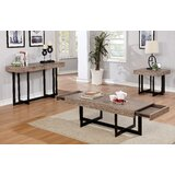 Bosco 3 Piece Coffee Table Set by 17 Stories