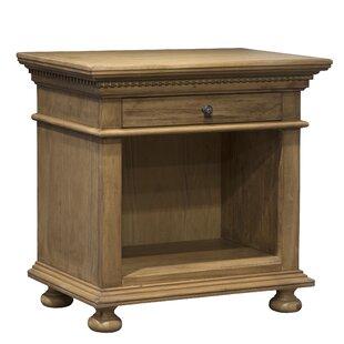 Greyleigh Asherton Open 1 Drawer Nightstand