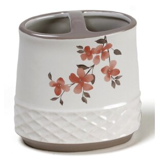 Bargain Coral Garden Toothbrush Holder By Saturday Knight, LTD
