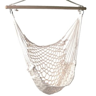 Beachcrest Home Parker Woven Cotton Chair Hammock