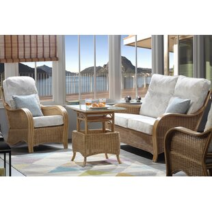 Wendy 4 Piece Conservatory Sofa Set By Beachcrest Home