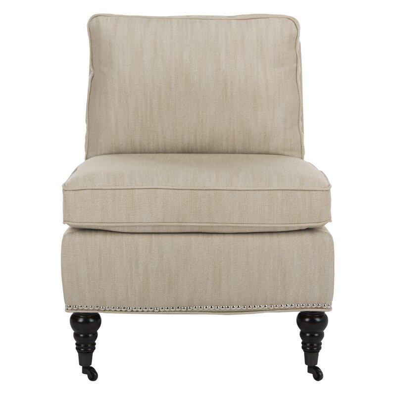 Incroyable Armless Slipper Chair