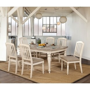 Krause 7 Piece Dining Set Rosecliff Heights