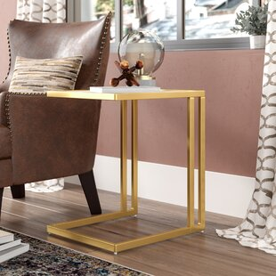 Calistoga Contemporary End Table by Trent Austin Design