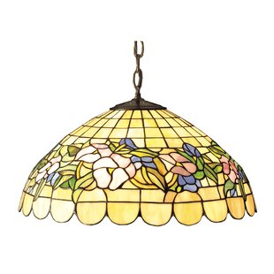 Tiffany 3-Light Bowl Pendant by Meyda Tiffany