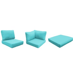 Barbados 18 Piece Outdoor Cushion Set By TK Classics