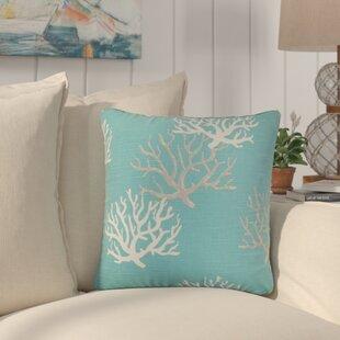 Martinique Coastal Cotton Throw Pillow (Set of 2)