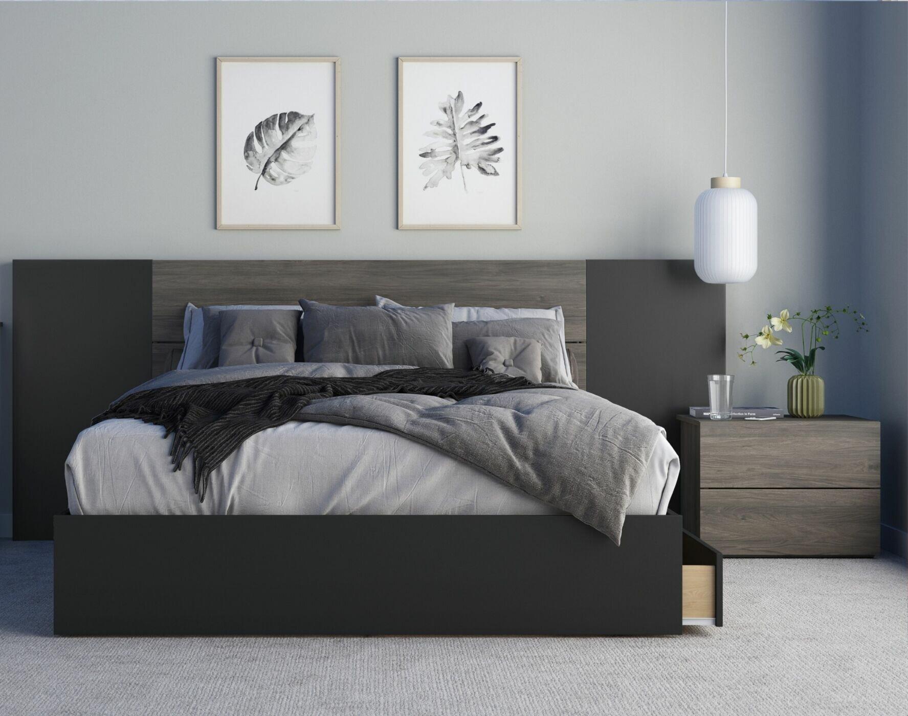 Ebern Designs Ozcan 4 Piece Bedroom Set Wayfair