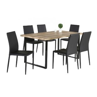 Destin Upholstered Dining Chair (Set Of 6) By Mercury Row